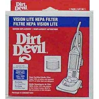 DIRT DEVIL Dirt Devil Vacuum Hepa Filter