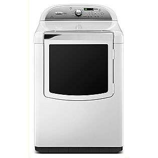 cu. ft. Electric Dryer w/ Steam Cycle   White  Whirlpool