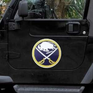 Buffalo Sabres 12 Team Logo Car Magnet
