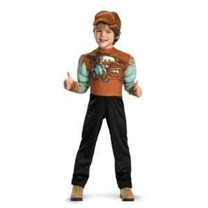 Tow Mater Classic Muscle Costume Small/petite 2t