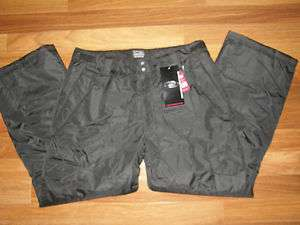 CB SPORTS Mens Black Ski Snowboard Pants Sz XL NWT $130 885381203154