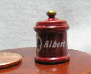 Miniature Dollhouse Can of Prince Albert