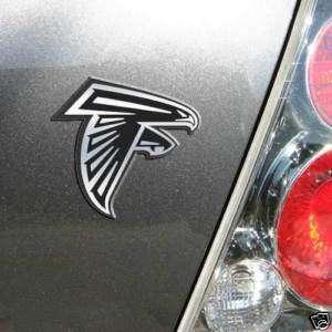 CHROME CAR/AUTO EMBLEM ATLANTA FALCONS NFL FOOTBALL