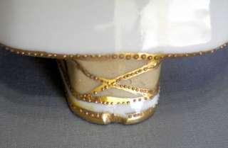 VTG Hand Painted NIPPON Gold LIDDED SUGAR Bowl CREAMER