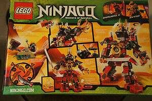 Lego Ninjago Samurai X Mech Robot 9448 w/ 3 minifigures ninja nya