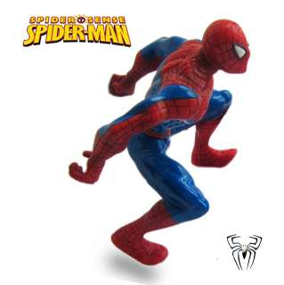 Marvel Comics Spiderman Action Figure Collectible Poseable Spider Man
