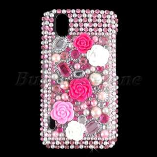 Crystal Diamond Rhinestone Case Cover for LG Optimus Black P970  D7