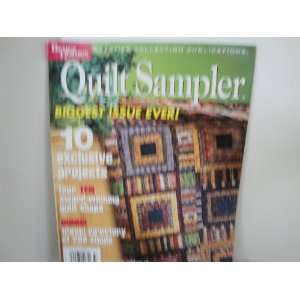 Quilt Sampler Magazine September 2003  Books