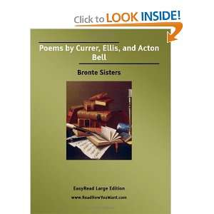 Bell (EasyRead Large Edition) (9781425006761): Bronte Sisters: Books