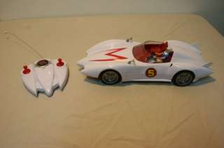 Hot Wheels Rc Remote Control Speed Racer Mach 5 ~ NICE