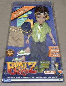 NIB 2003 Bratz Boyz DYLAN  extra outfits, accessories