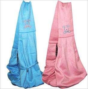 Lovable Pet Dog Cat Sling Shoulder Bag Carriers Puppy Pouch 8 LB