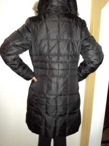 Eddie Bauer Women LONG Alpine Express Down Parka Puffer Jacket Coat