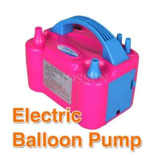 Nozzle Balloon Inflator Electric Balloon Pump Portable Blowerr