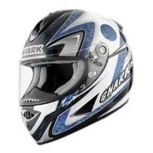 Shark RSR2 FUJIWARA BK_BLU MD MOTORCYCLE Full Face Helmet