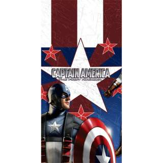 Captain America Birthday Party Plastic Table Cover
