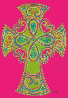 Large Flag   Celtic Cross   Religious   Vibrant colors