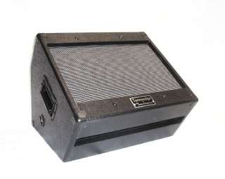 1x12 unloaded guitar speaker cabinet wedge sounds like 4x12
