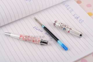 SANRIO HELLO KITTY PEN WITH CRYSTAL & GIFT BOX 5305 1