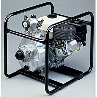 Tsurumi 1.5, 5.5 HP Honda Engine Driven High Pressure Pump at