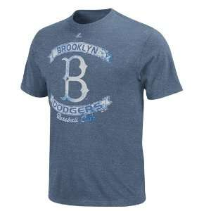 Brooklyn Dodgers Legendary Victory Heathered T Shirt   XX