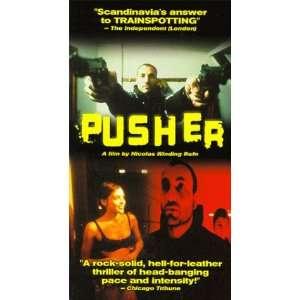 Pusher [VHS] Peter Andersson, Vanja Bajicic, Kim Bodnia, Lars