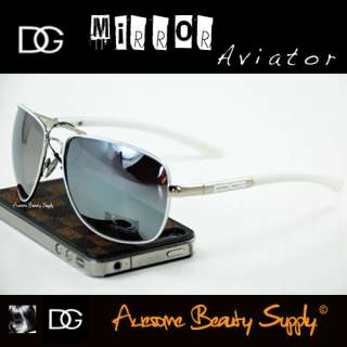 MIRRORED LENS AVIATOR MEN WOMEN SUNGLASSES PICK YOUR COLORS DG9538