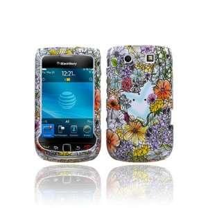 BlackBerry Torch 9800 Graphic Case   Flower Shop (Free