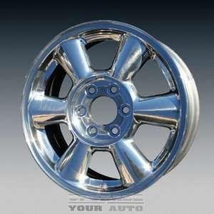 GMC Envoy 17X7 Factory Replacement Polished Aluminum Wheel Automotive