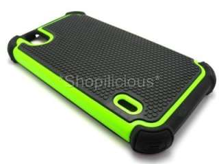BOOST MOBILE/SPRINT LG Marquee/Ignite TRIPLE HYBRID HARD COVER CASE