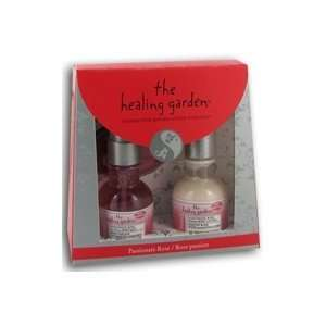 The Healing Garden Passionate Rose Gift Set with Body Mist Body Lotion