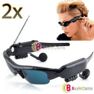 2X New Unique Style 500 Meters Sunglasses Sun Glasses Interphone