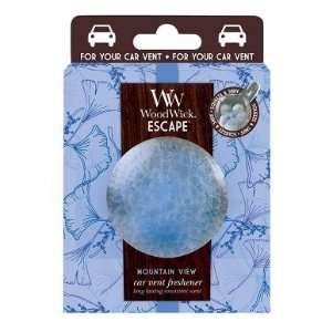 Woodwick Mountain View Scent Auto Car Vent Clip: Home Improvement