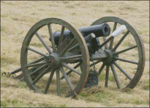 Civil War Cannon   Weapons of the Civil War Cross Stitch Pattern FREE