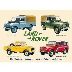 Land Rover Montage metal sign (fd ls): Home & Kitchen