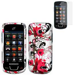 Cover Case for Samsung T528G Straight Talk w/Screen Protector |