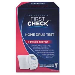 FIRST CHECK DIAGNOSTICS, CORP 7 Drug Test Kit FCD06907