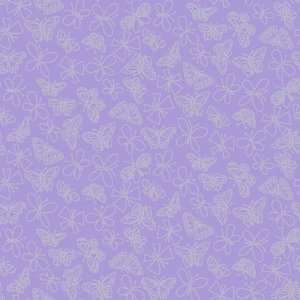 Glitter Butterfly Purple Wallpaper in Girl Power II: Home