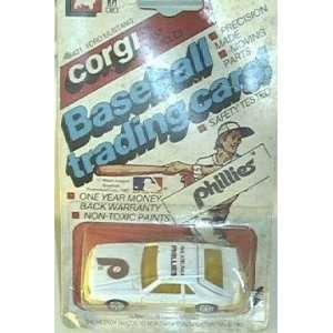 Philadelphia Phillies 1982 Corgi MLB Diecast 1/64 Scale Ford Mustang