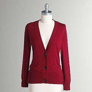 Womens Long Button Cardigan  Apostrophe Clothing Womens Sweaters