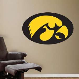 NCAA Iowa Hawkeyes Logo Vinyl Wall Graphic Decal Sticker