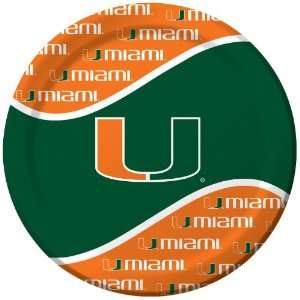 Lets Party By Creative Converting Miami Hurricanes Dinner