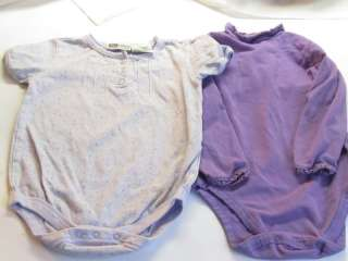 Large lot of 34 pieces of baby/toddler girl clothes size 12month
