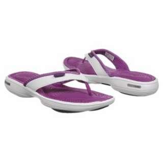 Athletics Reebok Womens EasyTone Flip II Purple/Purple/White Shoes