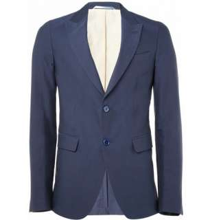Clothing  Blazers  Single breasted  Slim Fit Cotton