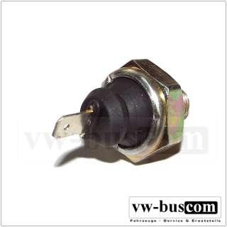 VW Bus T2 T3 Öldruckschalter (schwarz) Diesel Motor