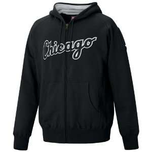 Nike Chicago White Sox Black Over Slide Full zip Hoody