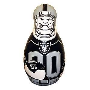Oakland Raiders Tackle Buddy Durable Vinyl And Sand