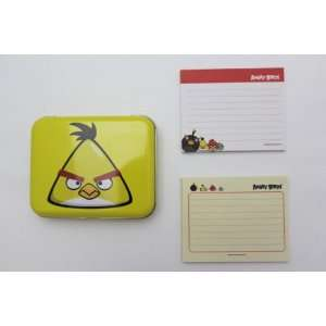 Licensed Angry Birds Stationary Office Supplies Memo Sheets in Tin Can