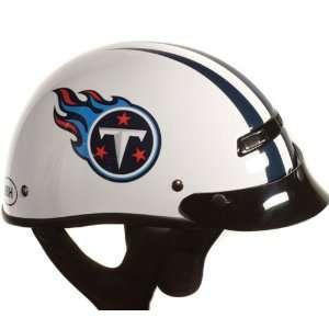 TITANS NFL PRO FOOTBALL LICENSED MOTORCYCLE HELMET